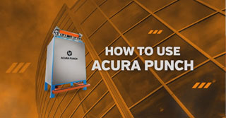 How to use the Acura Punch step by step